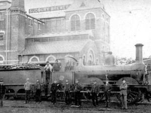 Cornard Road/Railway