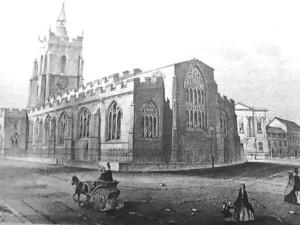 St Peter's church Market Hill