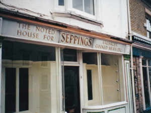 Seppings the butchers 47 Gainsborough Street